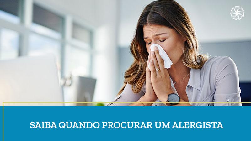 Quando Procurar Um Alergista | Clínica Sette