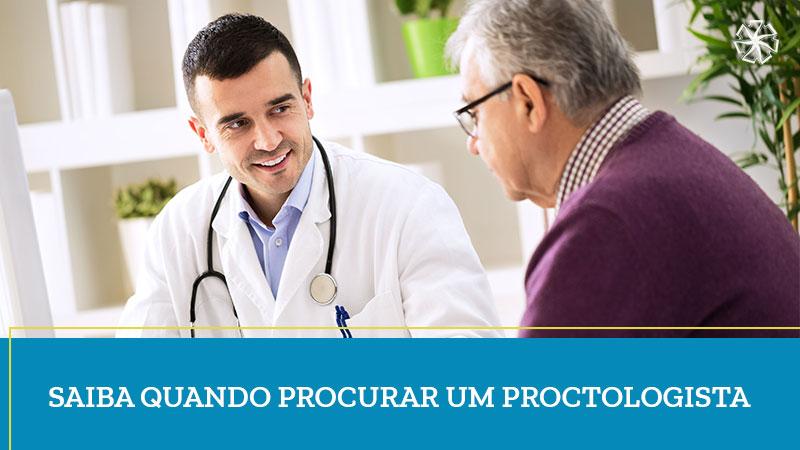 Quando procurar um proctologista